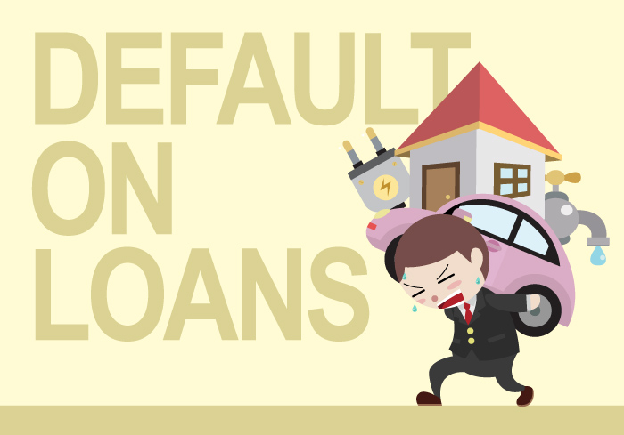 defaulting auto title loan