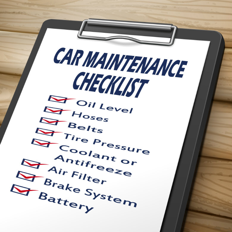 auto maintenance checklist