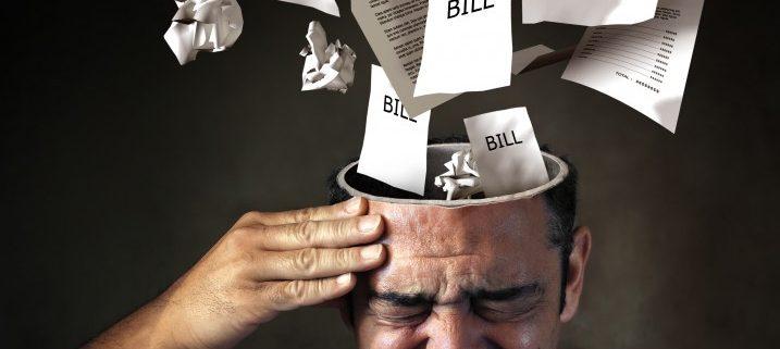 fall behind on bills