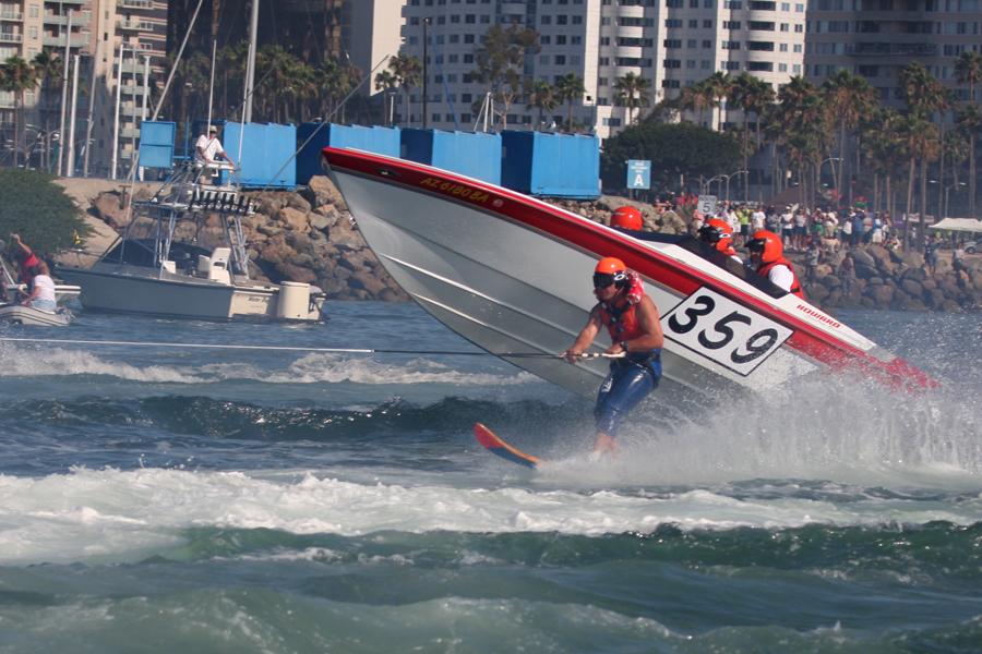 Catalina Ski Race in long beach