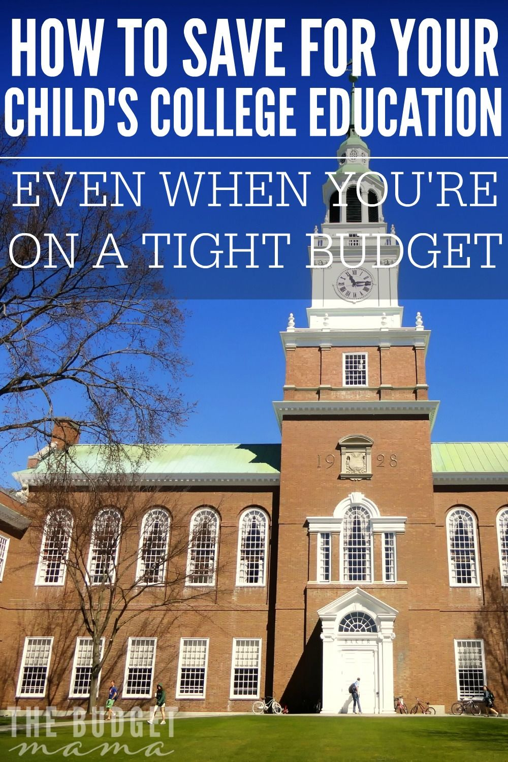 How to send your child to college on a budget