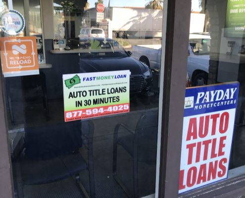 Fast Money Car Title Loans in Sunnymead Blvd Moreno Valley CA