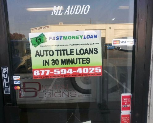 Fast Money Car Title Loans in Kiessig Ave Sacramento CA