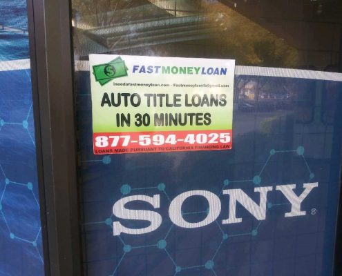 Fast Money Car Title Loans in Sunrise Blvd Rancho Cordova CA
