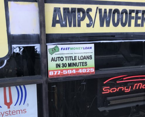 Fast Money Car Title Loans in 8252 Clairemont Mesa Blvd San Diego CA